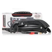 Pumpa HEYNER nožní jednopístová s manometrem PROFI - černá edice 215010