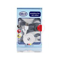 Kabel USB 2.0 - bílý ALCA 510720