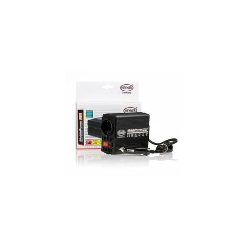 Měnič napětí HEYNER PREMIUM 12V=> 230V/150W+USB PROFI