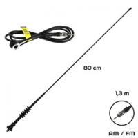 Anténa ALCA 80cm/kabel 130cm 530000