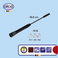 Anténa ALCA prut 16,5 cm černá 537120