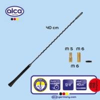 Anténa ALCA - prut  40cm /adapter pr.5+6mm/ 537000