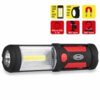 Lampa HEYNER PREMIUM pracovní COB-LED s dobíjecí baterií 575100