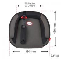 Podsedák  HEYNER SafeUp XL Comfort (II + III) Pantera -černý 783100