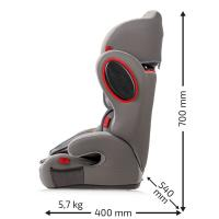 Autosedačka HEYNER MultiProtect ERGO 3D- SP (I, II, III) Koala šedá NOVÝ TYP