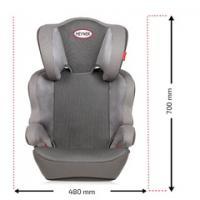 Autosedačka HEYNER MaxiProtect AERO (II+III) Summer béžová 797500